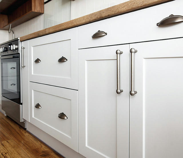What is the difference between stock, semi-custom & custom cabinetry?