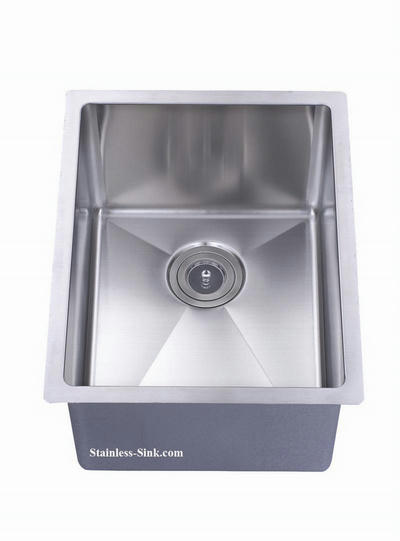 "16"" Single Bowl Undermount Stainless Steel Kitchen Sink: BEL-1620-DOM (16 gauge)"