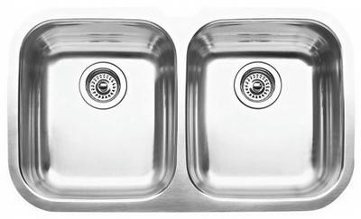 "32"" Ellis 50/50 Undermount Stainless Steel Double Bowl Kitchen Sink 16 Gauge EL-0205"