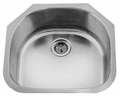 "20"" Ellis Undermount Stainless Steel Single Bowl Kitchen, Bar, Prep Sink 16 Gauge EL-3305"