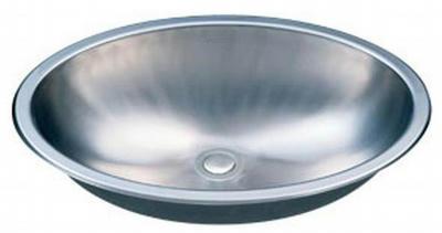 "21"" Italia Top-Mount or Undermount Stainless Steel Bathroom Vanity Sink IT-SV-14"