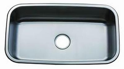 "31"" Italia Top-Mount or Undermount Large Stainless Steel Single Kitchen Bowl Sink ITZ-300"