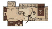 2011 Cameo 37CKS Floor Plan