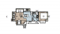 2012 Rockwood Signature Ultra Lite 8289WS Floor Plan