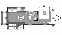 2017 Surveyor 33KRLTS Floor Plan