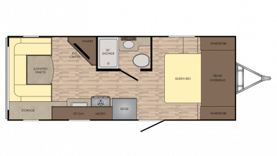 2018 Sunset Trail Super Lite 200RD Floor Plan Img