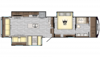 2019 Cruiser 344WB Floor Plan