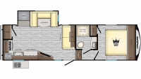 2019 Cruiser Aire 27MK Floor Plan
