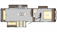 2019 Cruiser Aire 29SI Floor Plan