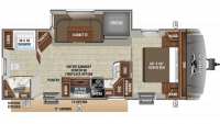 2019 Eagle HT 262RBOK Floor Plan