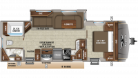 2019 Eagle HT 272RBOK Floor Plan