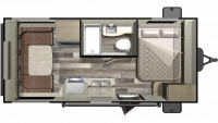 2019 Mossy Oak 171RD Floor Plan