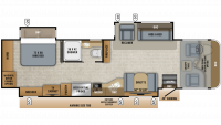 2019 Precept Prestige 36H Floor Plan