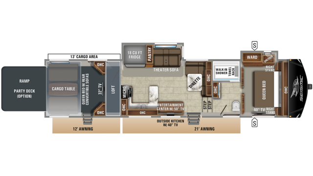 2019 Seismic 4125 Floor Plan