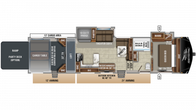 2019 Seismic 4125 Floor Plan Img