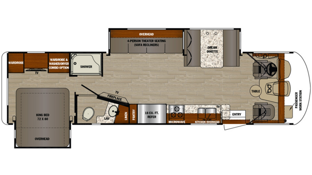 2020 Georgetown 5 Series 31L Floor Plan