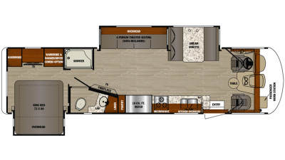 2020 Georgetown 5 Series 31L Floor Plan Img