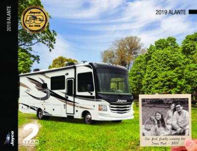 2019 Jayco Alante RV Brochure Cover
