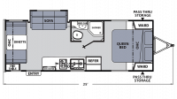 2018 Apex Ultra-Lite 213RDS Floor Plan