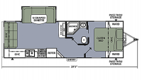 2018 Apex 25LE Floor Plan