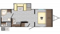 2019 Sunset Trail 222RB Floor Plan