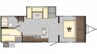 2019 Sunset Trail 242BH Floor Plan