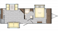 2019 Sunset Trail 250RK Floor Plan