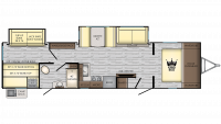 2019 Sunset Trail 336BH Floor Plan