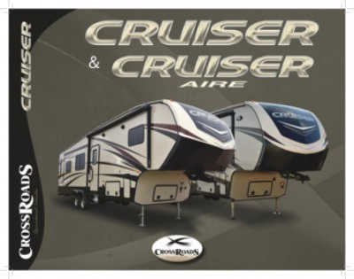 2018 CrossRoads Cruiser Aire RV Brand Brochure Cover