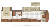 2010 Bounder 35S Floor Plan