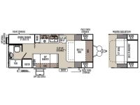 2014 Rockwood Mini Lite 2306 Floor Plan
