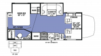 2018 Sunseeker MBS 2400W Floor Plan