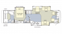 2005 Endeavor 40DST Floor Plan