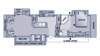 2006 Eagle 341RLQS Floor Plan