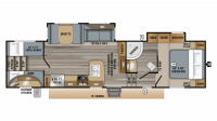 2019 Eagle HT 29.5BHOK Floor Plan