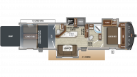 2019 Talon 403T Floor Plan
