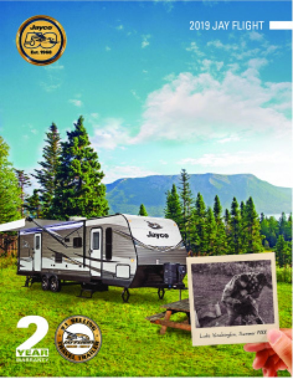 2019 Jayco Jay Flight RV Brochure Cover