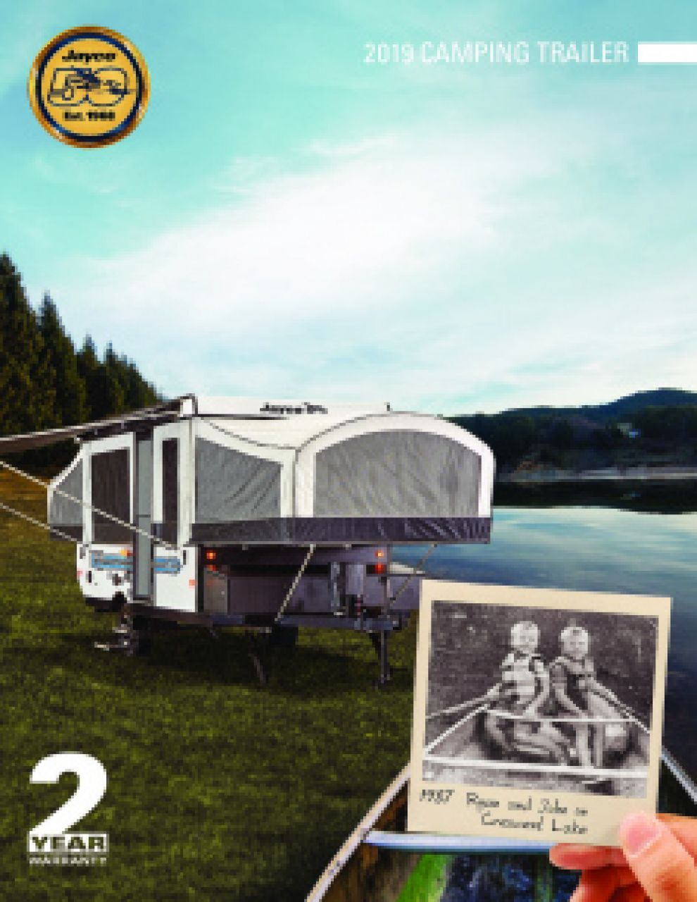 2019 Jayco Jay Sport RV Brochure Cover