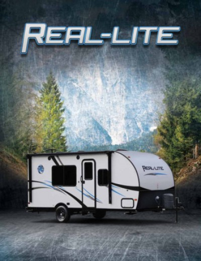 2017 Palomino Real-Lite Mini RV Brand Brochure Cover