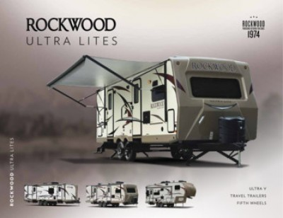 2017 Forest River Rockwood Ultra Lite RV Brand Brochure Cover