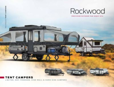 2019 Forest River Rockwood ESP RV Brochure Cover