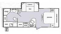 2014 Remington 2200DS Floor Plan