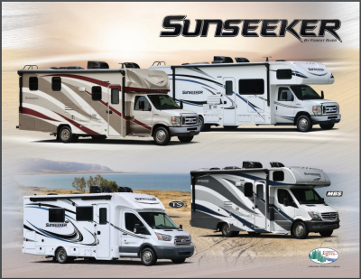2018 Forest River Sunseeker RV Brochure Cover