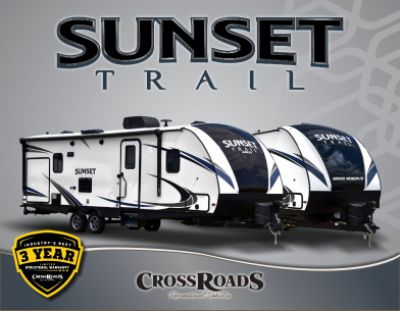 2019 CrossRoads Sunset Trail Grand Reserve RV Brochure Cover