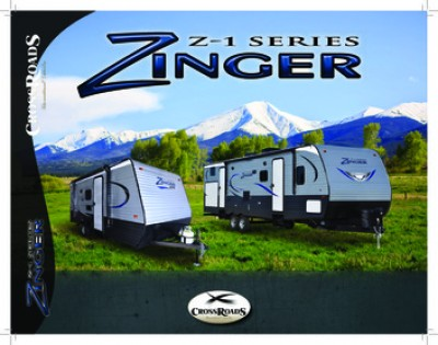 2017 CrossRoads Z-1 Lite RV Brand Brochure Cover