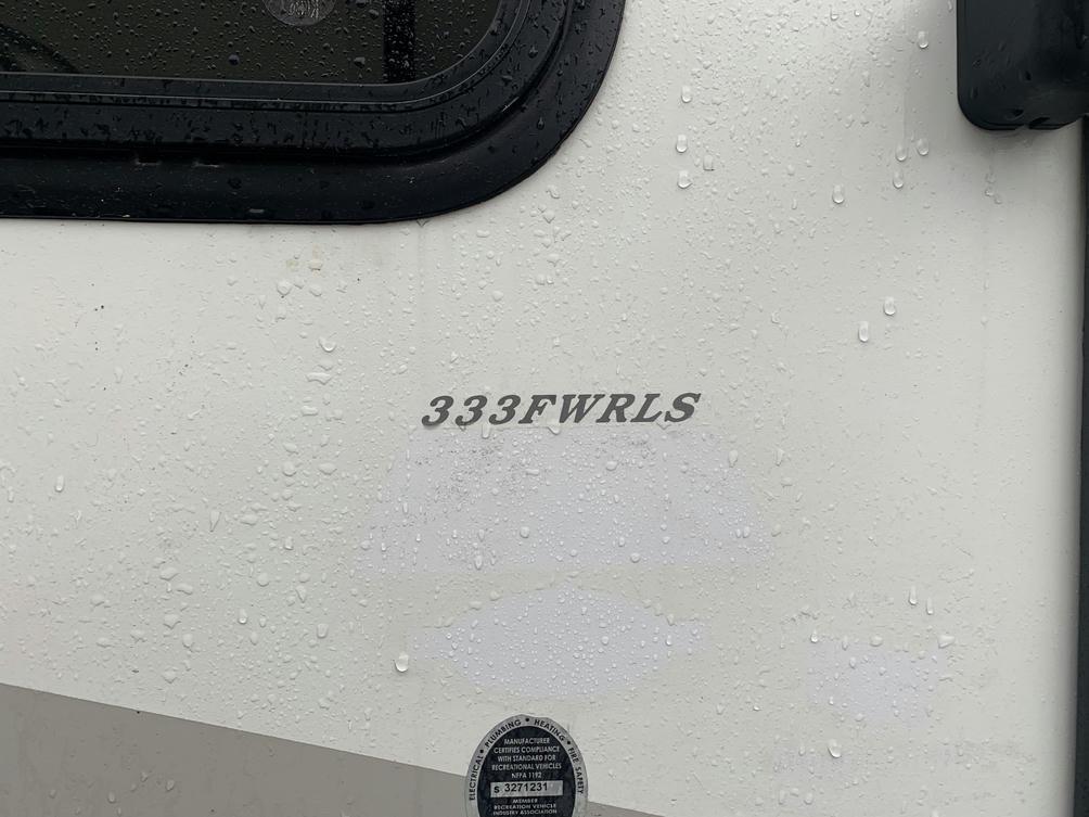 2014 Sprinter 333FWFLS