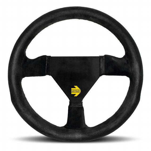 MOD 11 Steering Wheel Black Suede