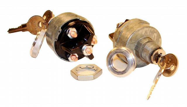 4 Position Ignition Switch w/Aluminum Knob