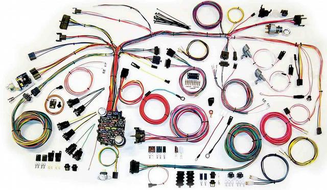 67-68 Camaro Wire Harnes System