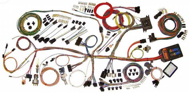 62-67 Nova Wiring Hrness System